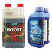 Buy CANNA BOOST 1L And get Vitalink MAX 1L Hydro Grow for ONLY £9.99